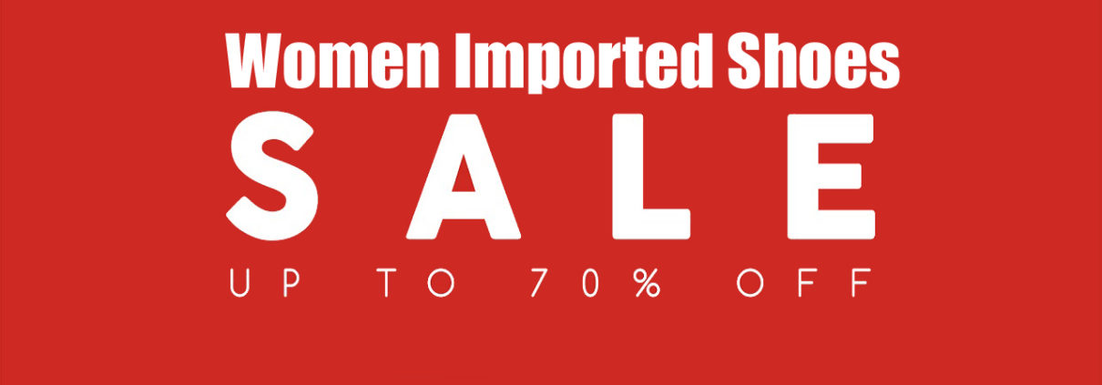 shoes 70% off