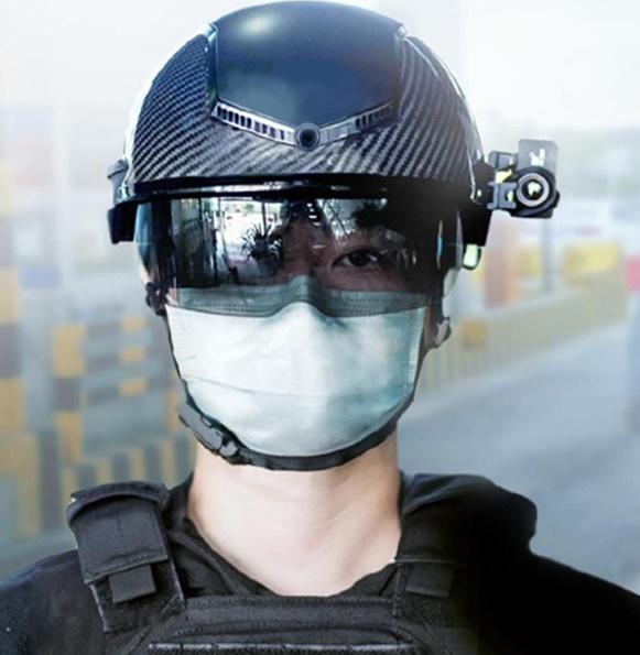 Smart Helmet temperature