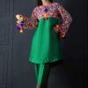 Anny khawaja dresses, Anny khawaja 2 piece dress, Anny khawaja stitched dress, raw silk