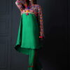 Anny khawaja dresses, Anny khawaja 2 piece dress, Anny khawaja stitched dress, raw silk