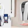 automatic hand sanitizer dispenser stand